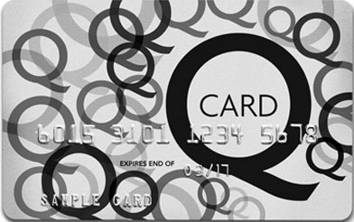 Q Card merchant logo